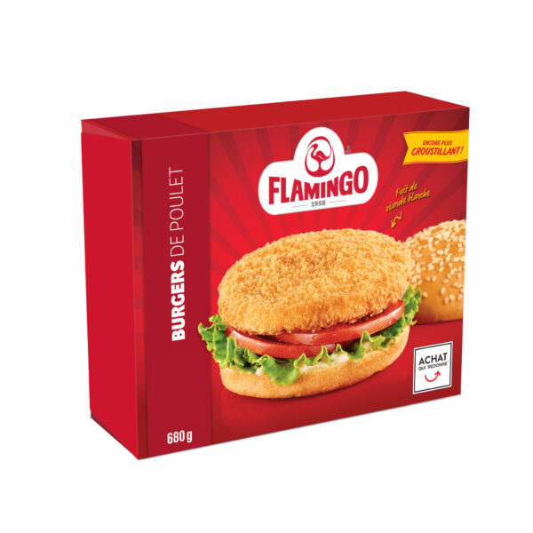 Breaded Chicken Burgers